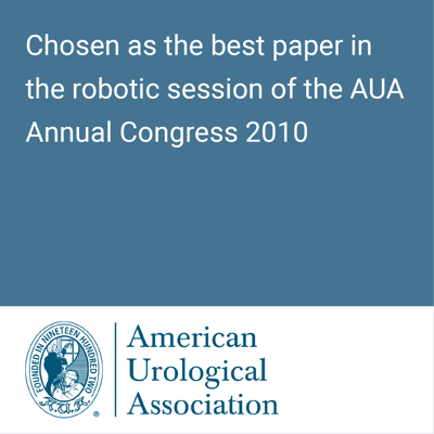 American Urology Association best paper 2010