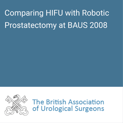 baus 2008 robotic prostatectomy 2008