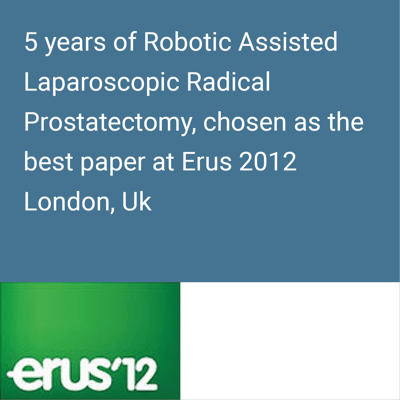 robotic prostate surgery results erus12