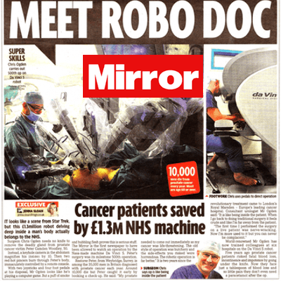 prostate surgery - daily mirror