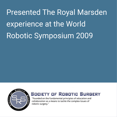 world robotic symposium 2009